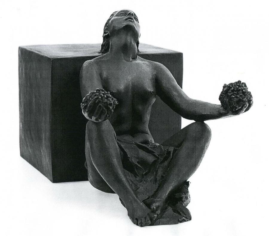 Statua . Allegoria della Giustizia