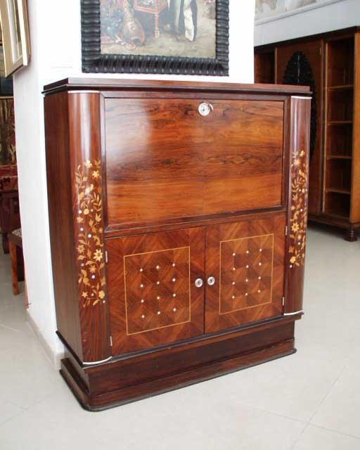 Cabinet con sportello a ribalta di Jules Leleu