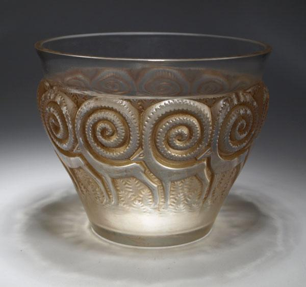 Vaso Rennes di René Lalique