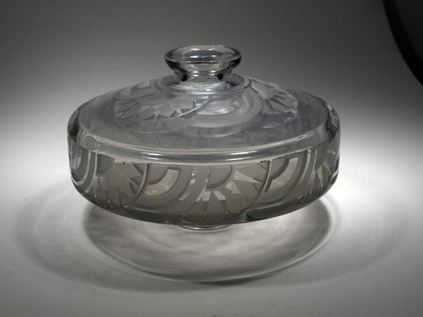 Vaso Art Deco 'Toupie' di Andre Delatte